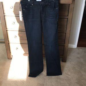 Parker smith dark bootcut jeans